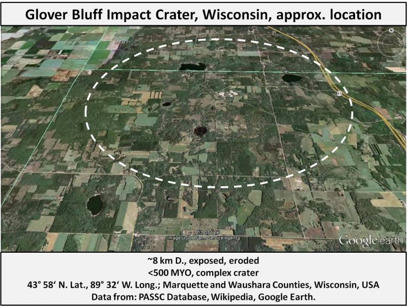 Ohio Asteroid Crater - Pics about space
