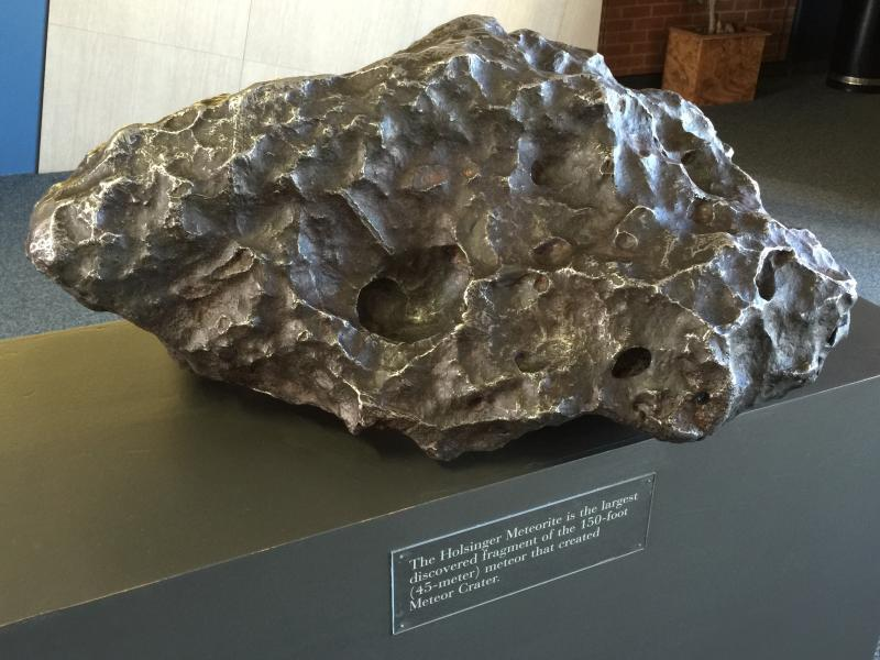 Holsinger Meteorite, Canyon Diablo Meteorite, Barringer Crater, Arizona