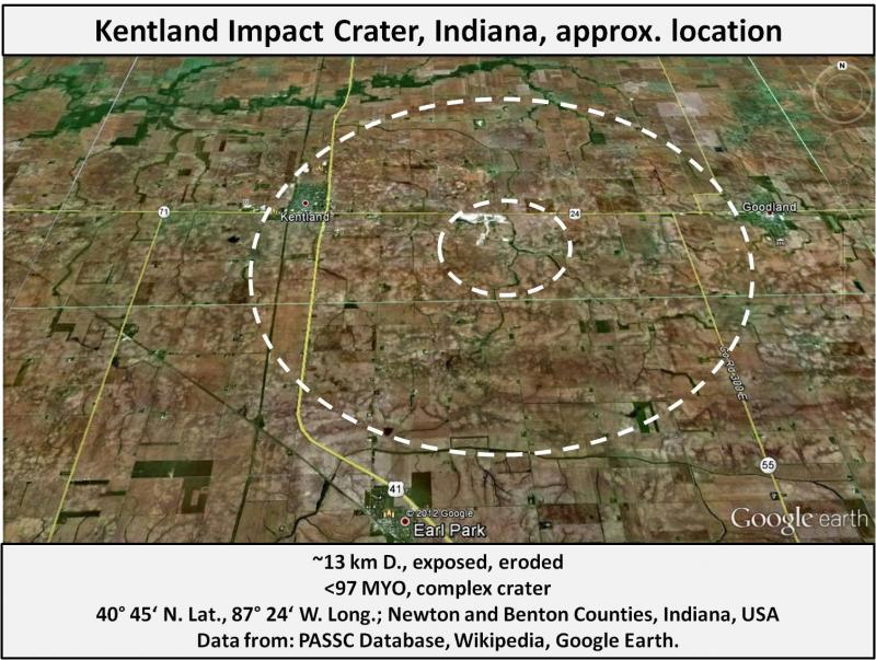 Asteroid Crater Ohio - Pics about space